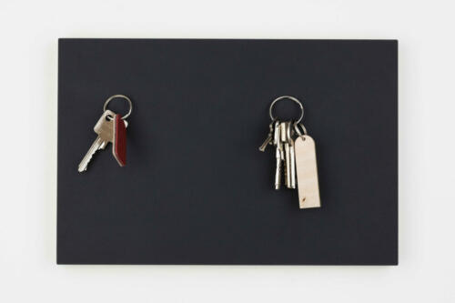 3002001004 STADIG anziehend magnet schlüsselbrett linoleum magnetisch anthrazit 3300_2200 Bild1