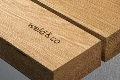 weld & co - Eiche - Garderobe 01 - Groesse S M L - GAE01 - Detail 01