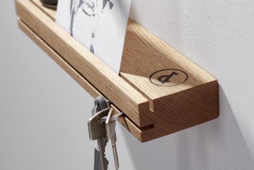 weld & co - Eiche - Schlüsselbrett 01 - SchBE01 - Detail 16